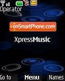 Blue express music es el tema de pantalla