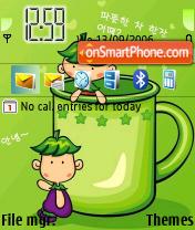 Cartoon 2 theme screenshot