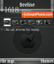 Black mac s60v3 es el tema de pantalla