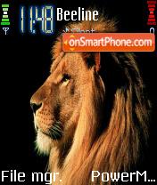 Lion es el tema de pantalla