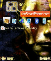 Orc theme screenshot