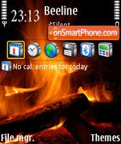 TheFireStillBurns es el tema de pantalla