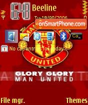 Manchester United es el tema de pantalla