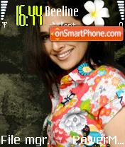Vidya Balan theme screenshot