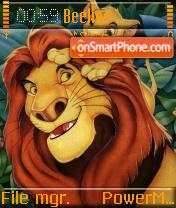 Pride Of Simba es el tema de pantalla
