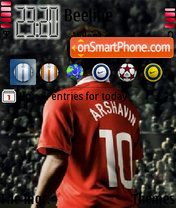 Arshavin 02 es el tema de pantalla