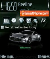 Aston Martin 12 theme screenshot