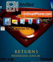 Superman Returns es el tema de pantalla