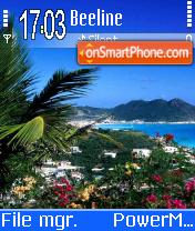 Seaside es el tema de pantalla