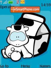 Cow es el tema de pantalla