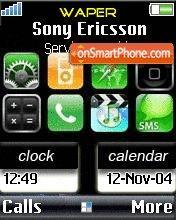 Touch Screen es el tema de pantalla
