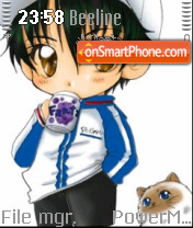 Chibiryoma theme screenshot