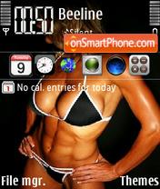 Fitness girl es el tema de pantalla