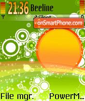 Fun And Joy theme screenshot