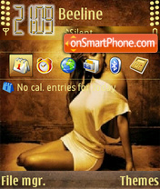Keyshia Cole tema screenshot
