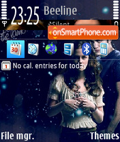 Twilight 2 01 es el tema de pantalla
