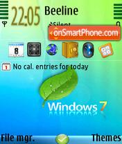 Windows7 01 es el tema de pantalla
