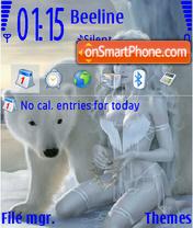 Ice Women es el tema de pantalla