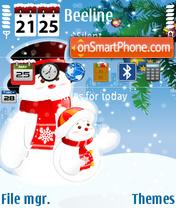 Winter 2009 v1 es el tema de pantalla