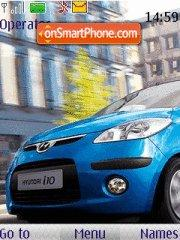 Hyundai i10 theme screenshot