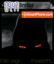 Sasuke ultimate Sharingan es el tema de pantalla
