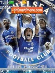 Del Piero Chelsea theme screenshot