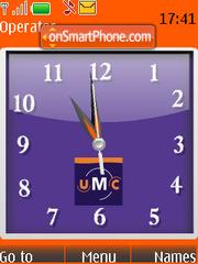 Umc Clock SWF es el tema de pantalla