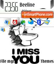 Miss U 01 es el tema de pantalla