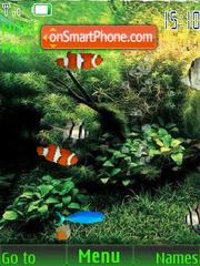 SWF dream aquarium es el tema de pantalla