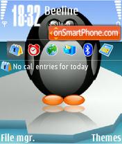 Pinguin es el tema de pantalla