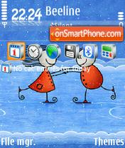 New Year 2011 es el tema de pantalla