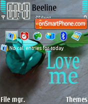 Love Me 01 es el tema de pantalla