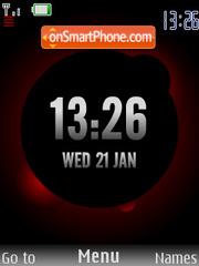 Bordo Clock SWF es el tema de pantalla