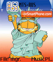 Garfield 8 theme screenshot