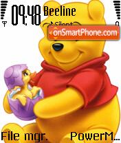 Pooh 18 theme screenshot