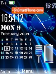 SWF Clock theme screenshot