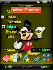Miky and Donald theme screenshot