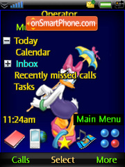 Mimi and Daysi theme screenshot