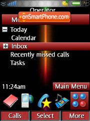 Xperia1 theme screenshot