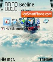 Cloud Train es el tema de pantalla