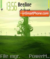 Green Turn theme screenshot