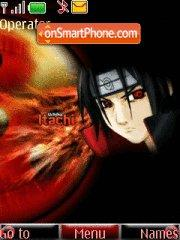 Itachi Akatsuki theme screenshot