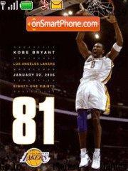 Kobe Bryant 01 es el tema de pantalla