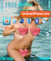 Krasotka theme screenshot