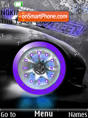 Prostreet Flash Swf tema screenshot