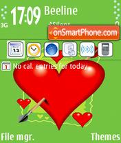 Valentines es el tema de pantalla