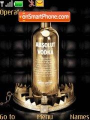 Vodka Absolut theme screenshot