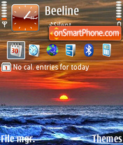 Nature1 01 es el tema de pantalla