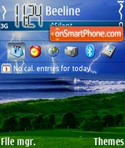 Storm Water theme screenshot