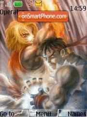 Street Fighter 2 Remix theme screenshot